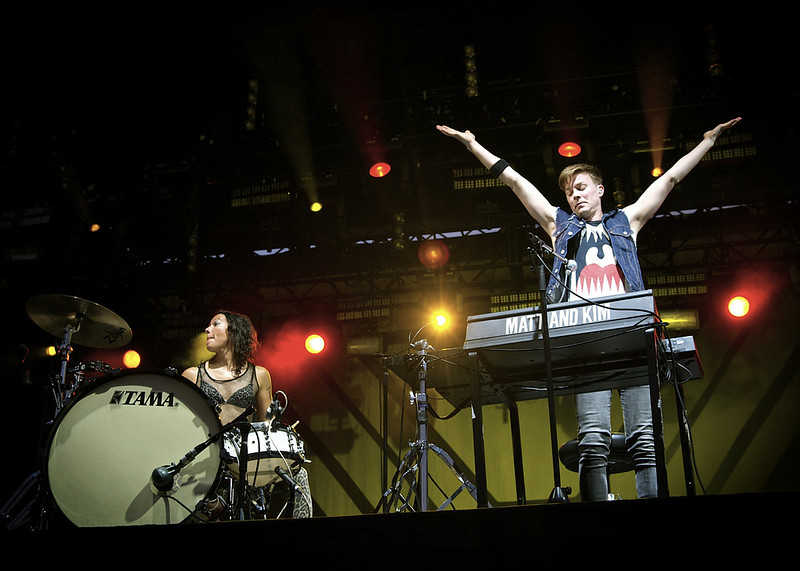 Matt and Kim @ LouFest 2014