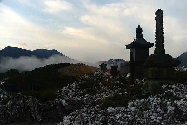 恐山 Osorezan, Aomori Japan, at dawn, 22 Sep 2014. 135