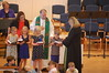 Matthew receiving his third grade Bible