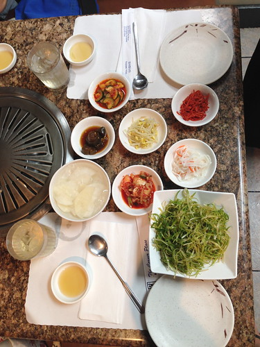 Banchan at The Corner Place