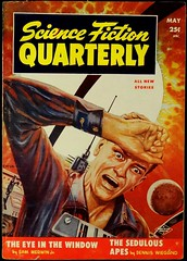 Science Fiction Quarterly Vol. 3, No. 5 (May, 1955). Cover by Ed Emsh