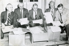 Petitions urge veto of Taft-Hartley anti-labor act 1947