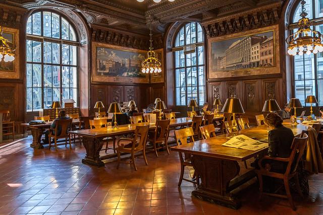 New York City Public Library Reading Room