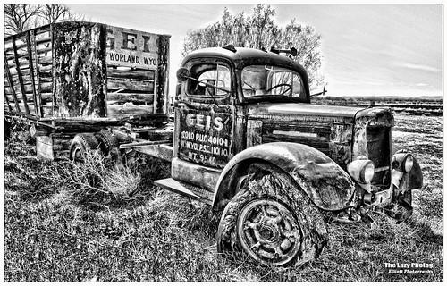 April 8 2012 - One of Geis Trucking's older trucks