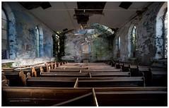 Decay at Salem Chapel Arthog Gwynedd Wales UK