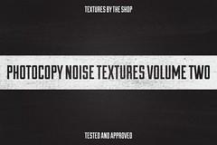 Photocopy noise textures volume 02