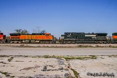 BNSF 4592 | GE C44-9W | BNSF River Subdivision
