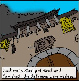 under siege city