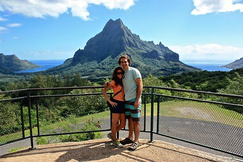 Moorea atv tour view