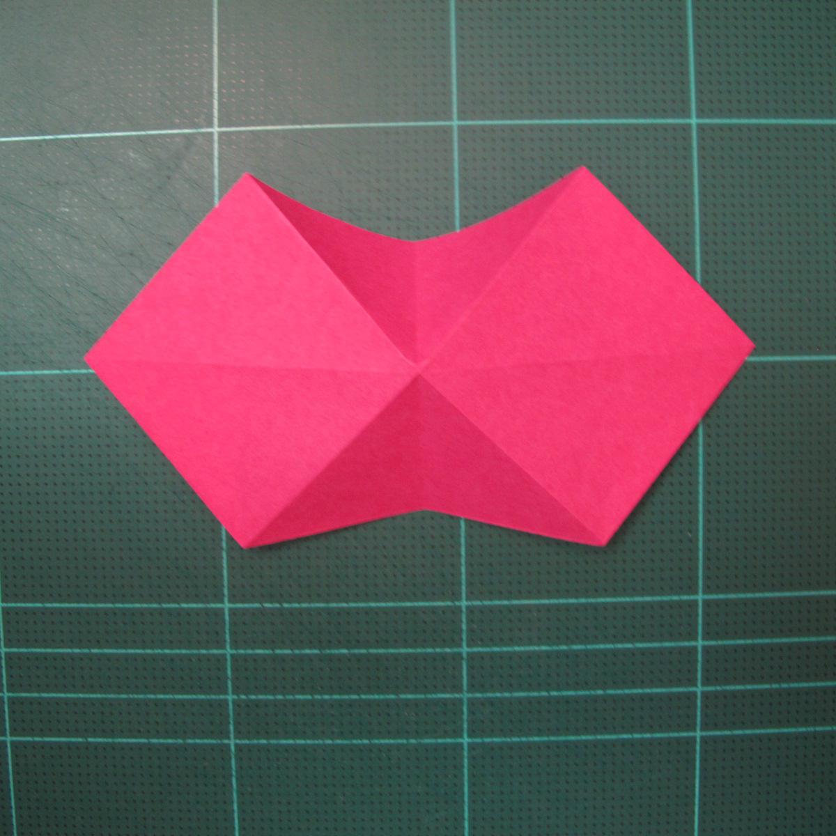 การพับกระดาษแบบโมดูล่าเป็นดาวสปาราซิส (Modular Origami Sparaxis Star) 004