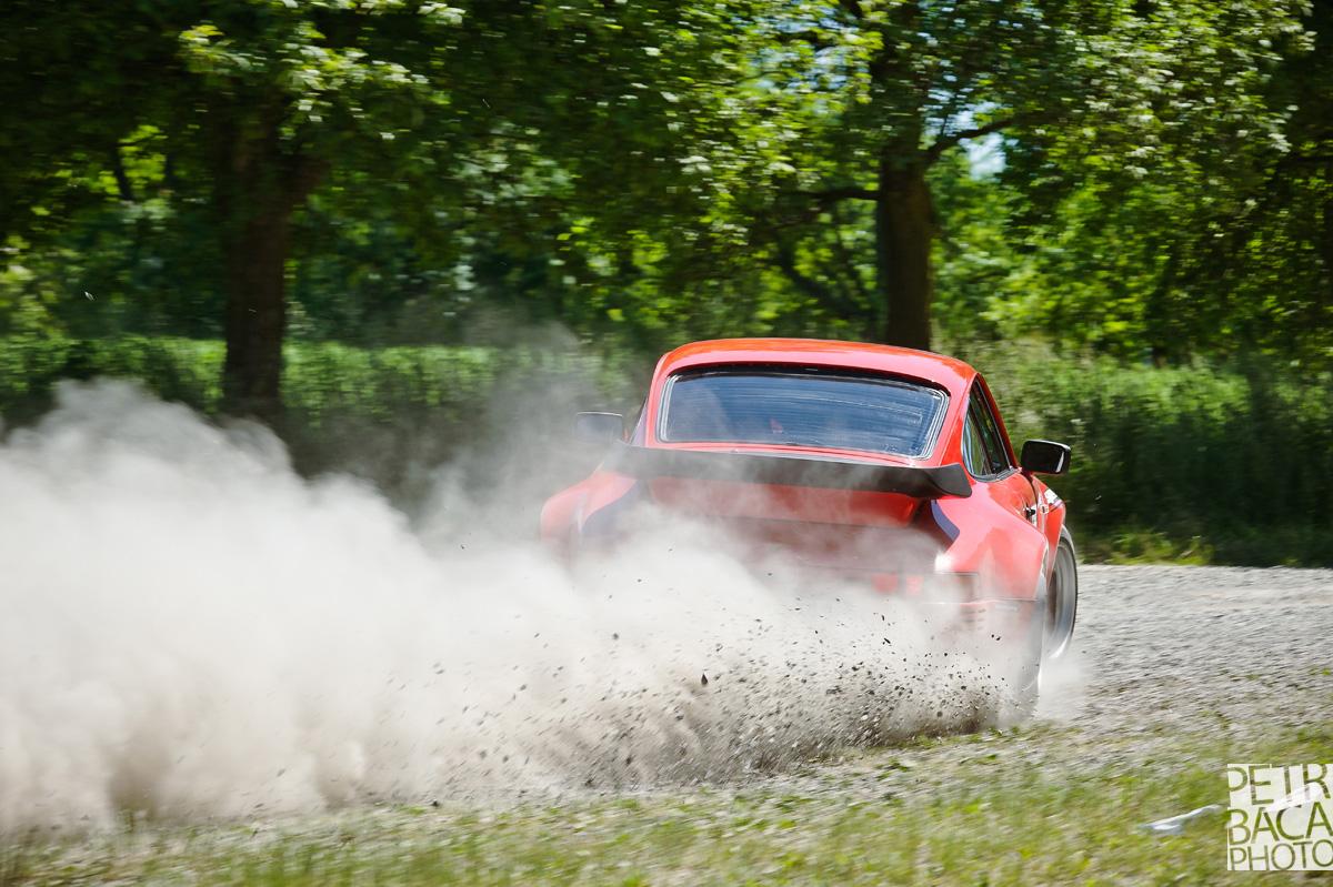 Rally Orlické hory 2014, Opočno, ČMPR, Porsche 911,