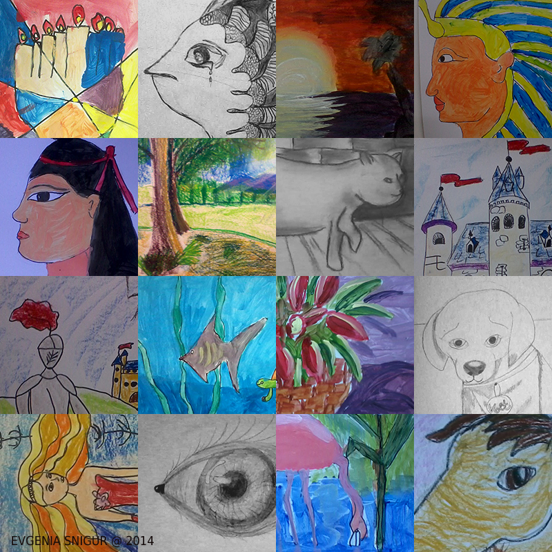 My pupils drawing digest, 7,5-11,5 year old
