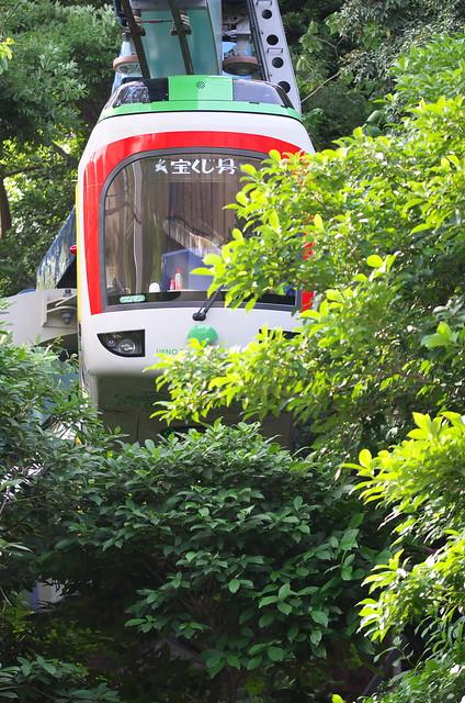 Tokyo Train Story 上野動物園モノレール 2014年6月21日