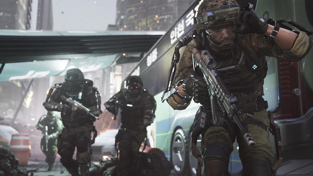 Call of Duty Advanced Warfare_Induction_Rush