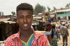 Ethiopian Man at the Debark Market, Ethiopia