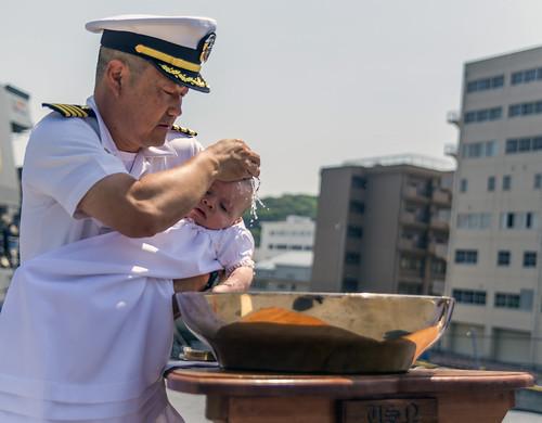 Navy Tradition: Baptism Aboard USS Stethem