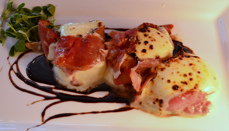 Torched Handmade Mozzarella Wrapped in Prosciutto