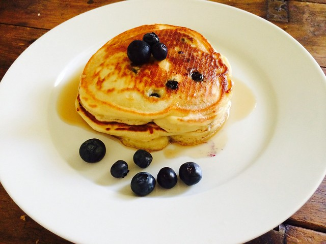 Photo of the week: Blueberry Pancakes