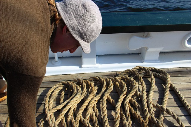 coiling the rope