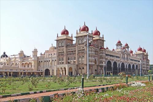 Le palais du Maharaja (Mysore, Inde)