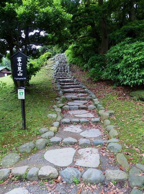 Hama-Rikyu Garden Steps