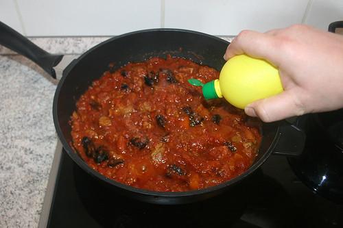 44 - Mit Salz, Zucker & Zitronensaft abschmecken / Taste with salt, sugar & lemon juice