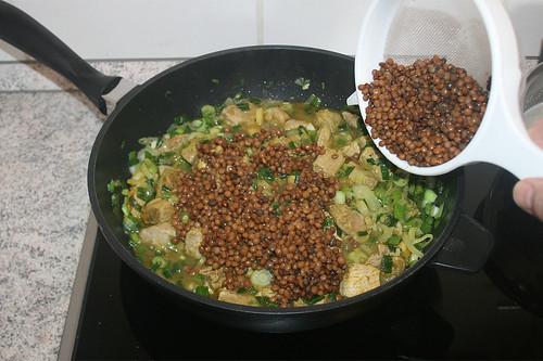 35 - Linsen unterheben / Fold in lentils
