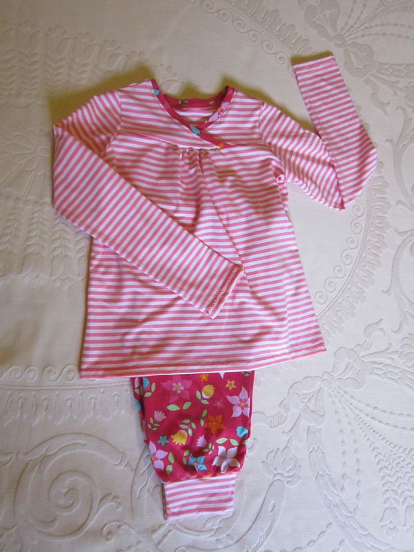 pyjamas for Clare - Oliver + S Hopscotch top