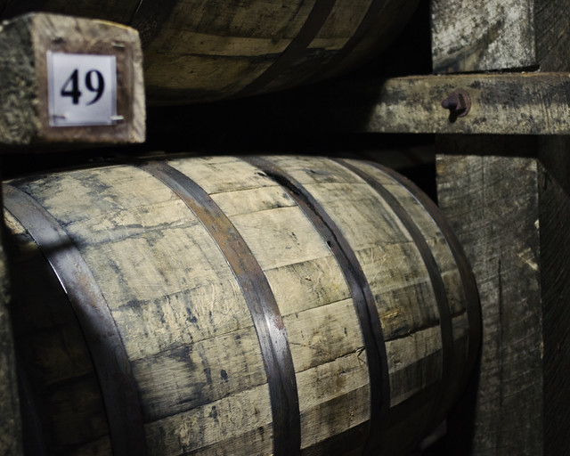 Bourbon barrel - Jim Beam