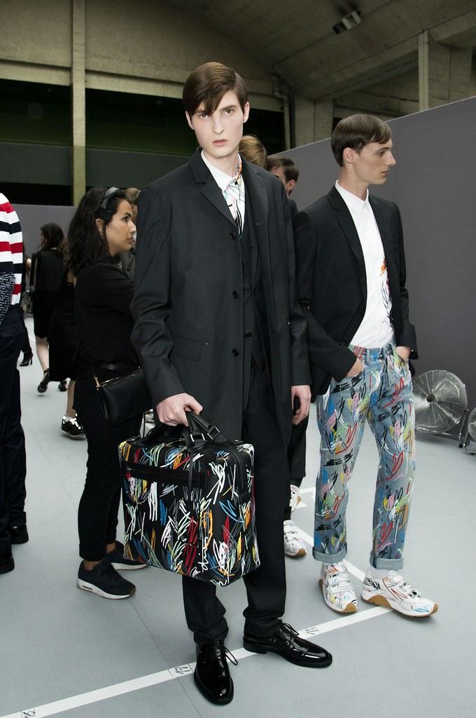 SS15 Paris Dior Homme247_Nino De Backer, Tommaso de Benedictis(fashionising.com)