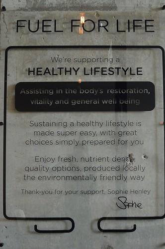 Henley's Wholefoods: Statement