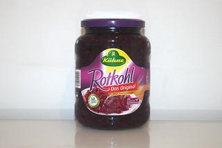 11 - Zutat Rotkohl / Ingredient red cabbage