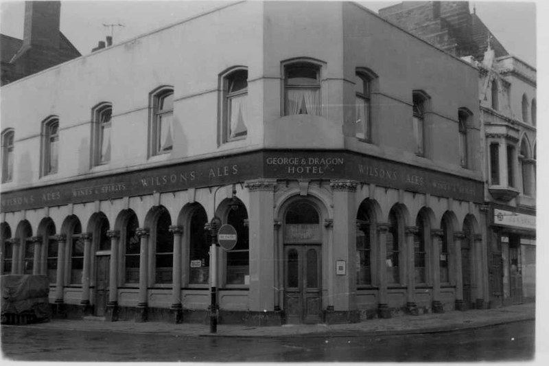 "George and Dragon, ""Band on the Wall"", Swan Street, Manchester, Sept 1961"