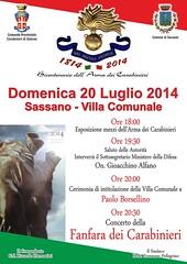 anniversario carabinieri a sassano