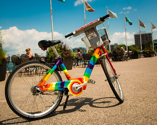 Rainbow Artbike