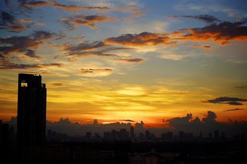 Bangkok Sunset