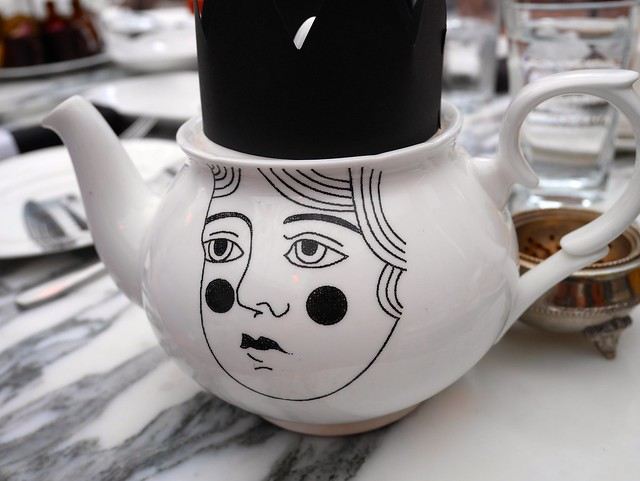 Sanderson Hotel Mad Hatters Tea Party
