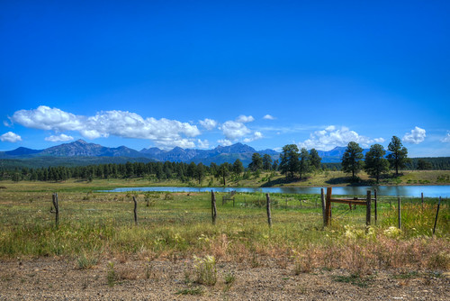 View from Pagosa B&B