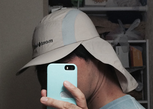 サハラキャップ  たれつき帽子