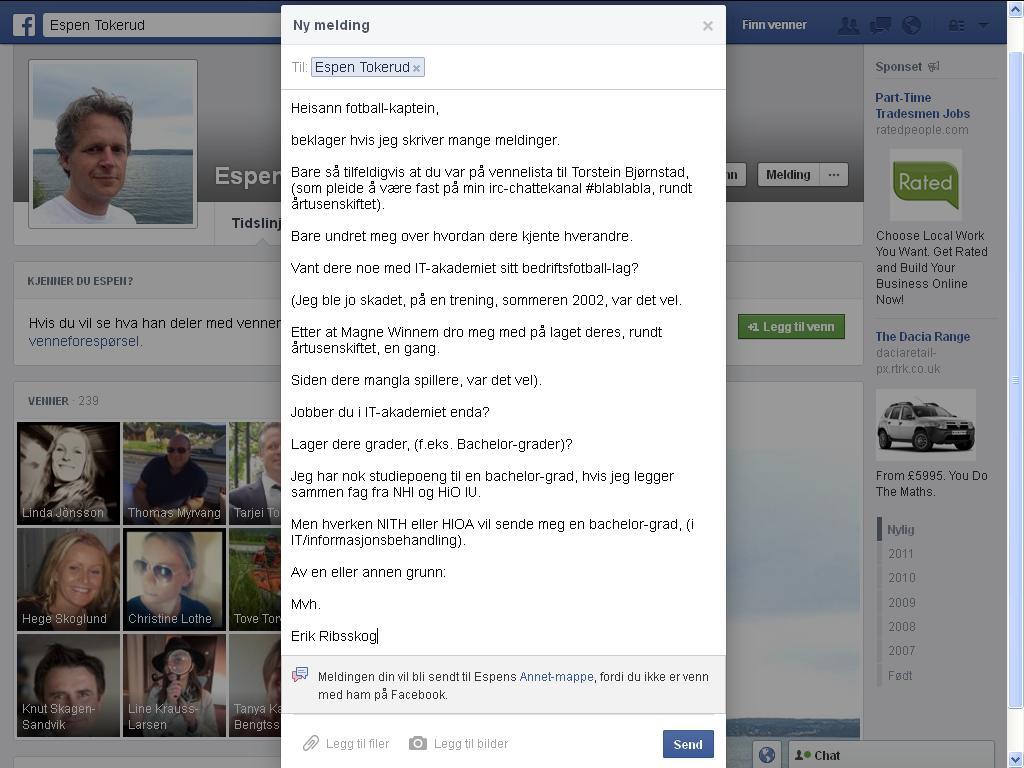 facebook tokerud