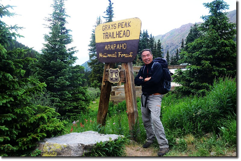 Grays Peak Trailhead 3