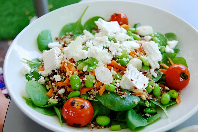 Salad at Urban Meadow Cafe, Bayswater