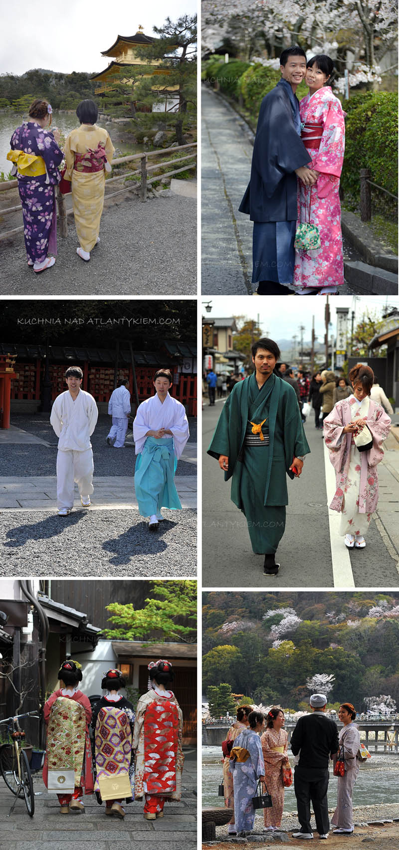 Scenes from the streets of Kyoto