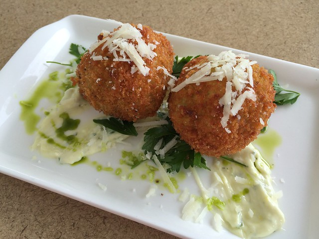 Spinach arancini - WK Hearth