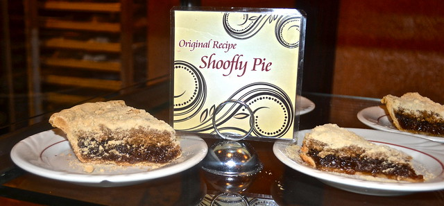 Shoofy Pie - Amish Traditional Pie - Hershey Farm Restaurant Lancaster County PA