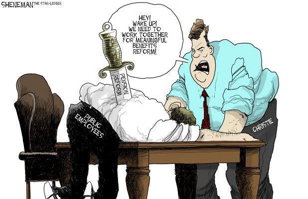 Drew Sheneman cartoon