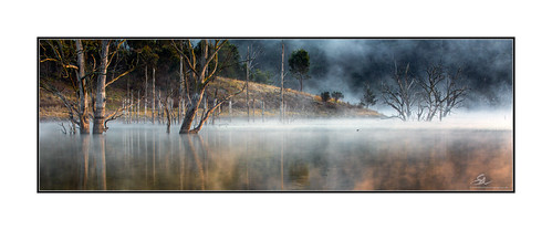 Morning mist, Lake Windamere