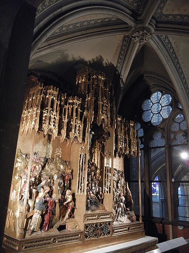 DSCN9371 _ Antwerp Passion Altar, Museum of Votivkirche, Wien, 2012