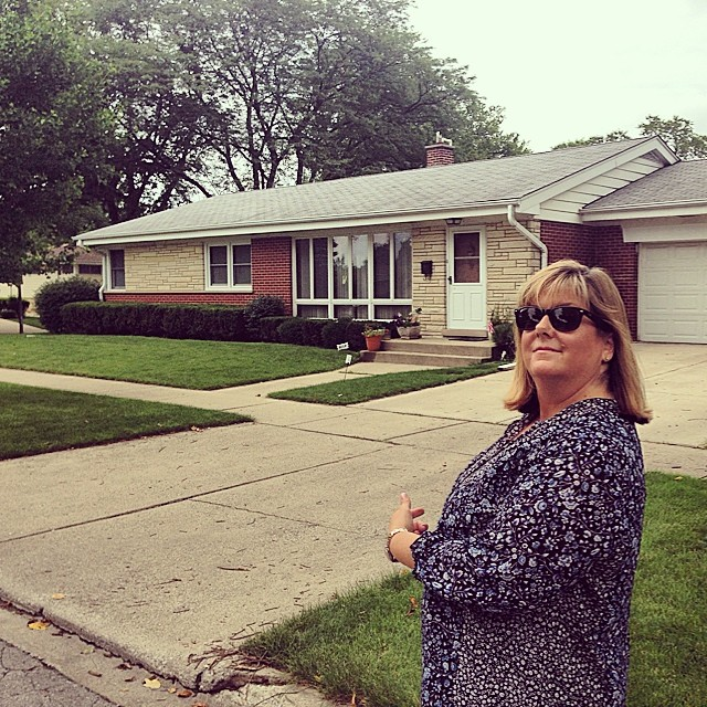 Our house in Elmhurst. 187 Jackson. We moved away in 1967.
