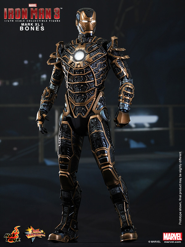 Hot Toys - Iron Man 3 - Bones (Mark XLI) Collectible Figure_PR1